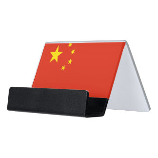 Card Holder with flag of China