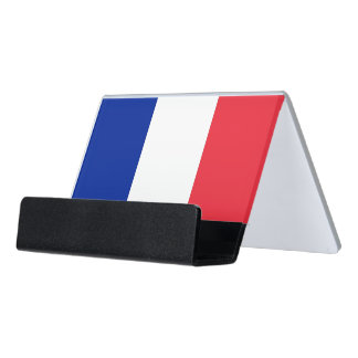 Card Holder with flag of France