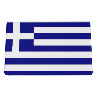 Card Holder with flag of Greece