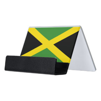 Card Holder with flag of Jamaica