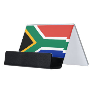 Card Holder with flag of South Africa