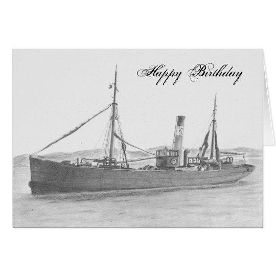 Card - Hull Trawler - Gamecock