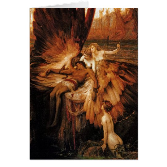 Card/Invitation: Lament for Icarus by H. Draper Card