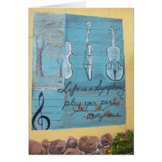 Card: Linden Hills House of Music, Mpls.,  MN Card