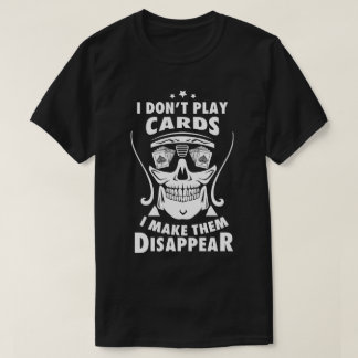 Card Magician Black T-shirt