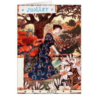 Card Month of July - Jullet