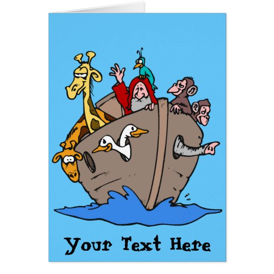 Card - Noah's Ark