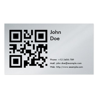 Card (phone, email, web) pack of standard business cards