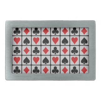 Card Player belt buckle