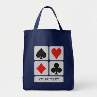 Card Player custom bags