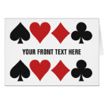 Card Player custom greeting card