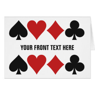 Card Player custom greeting card