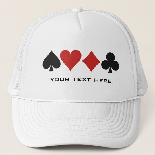 Card Player custom hat