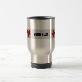 Card Player custom mugs