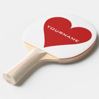 Card Player custom ping pong paddle