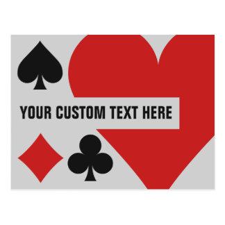 Card Player custom postcard