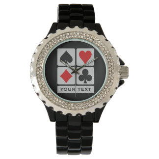 Card Player custom watches