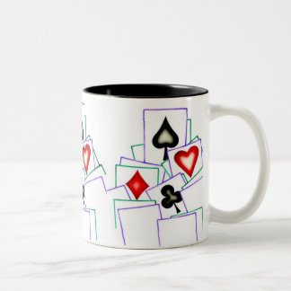Card Player Suits Mugs