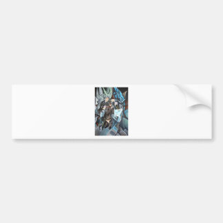 Card Players and Poker Faces Bumper Sticker