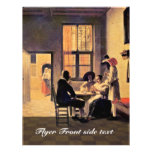 Card Players By Hooch Pieter De (Best Quality) Personalized Flyer