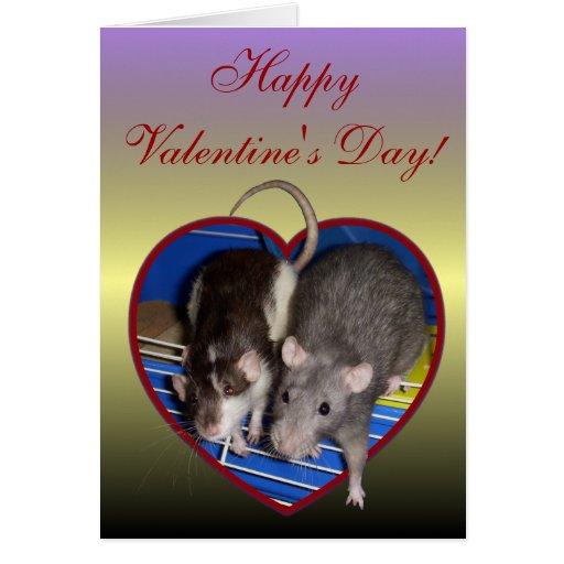 Card: Ratty Love Valentine