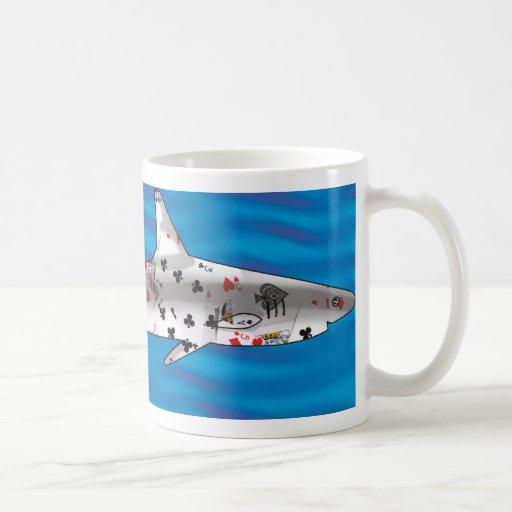 Card Shark Basic White Mug