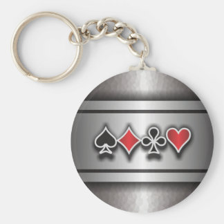 Card Sharp 1 Basic Round Button Key Ring