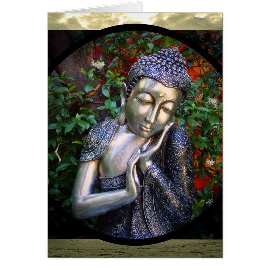 Card | Silver Buddha Birthday