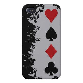 Card Splash custom iPhone cases Cover For iPhone 4