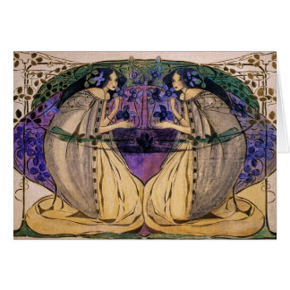 Card Spring by Frances Macdonald