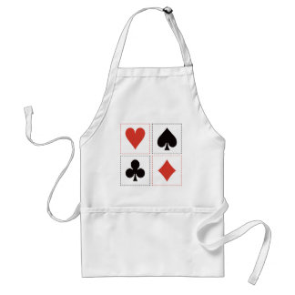 Card Suits 03 Aprons