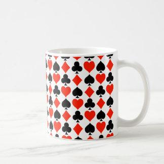 Card Suits Basic White Mug
