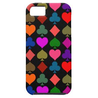 Card Suits Bright Tough iPhone 5 Case