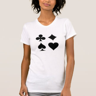 Card Suits Pictogram T-Shirt