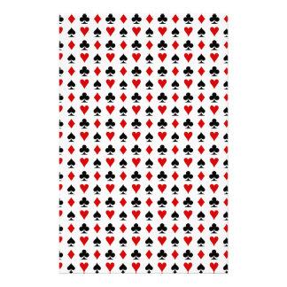 card symbols pattern.jpg customized stationery