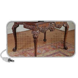 Card table, c.1740 laptop speakers