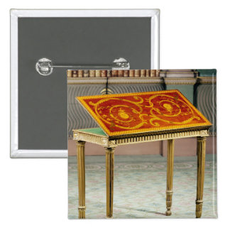 Card table, c.1770 15 cm square badge