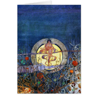 Card: The Harvest Moon by C.R. Mackintosh Card