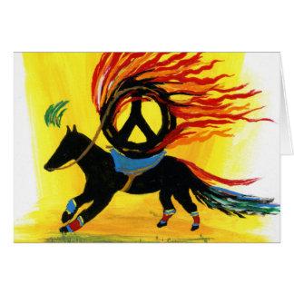 Card - Un Caballo De La Paz - Feliz Cumpleaños