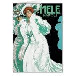 Card: Vintage Art - Womens' Fashion - Mele