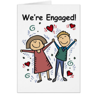 Card-We re Engaged-Change to own words