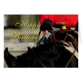 Card -western birthday