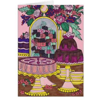 Card Wishing You Sweet Things