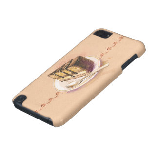 Card with painted watercolor cake iPod touch 5G cases