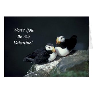 Card / Won't You Be My Valentine?