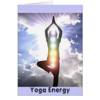 CARD- YOGA ENERGY CARD