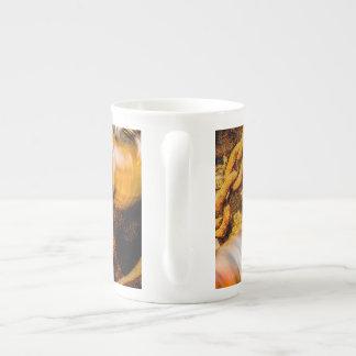 Cardan Shaft - Working Hard Bone China Mug