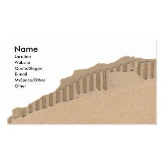Cardboard Business Cards