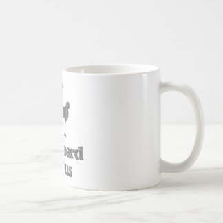 Cardboard Genius Basic White Mug