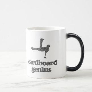 Cardboard Genius Morphing Mug